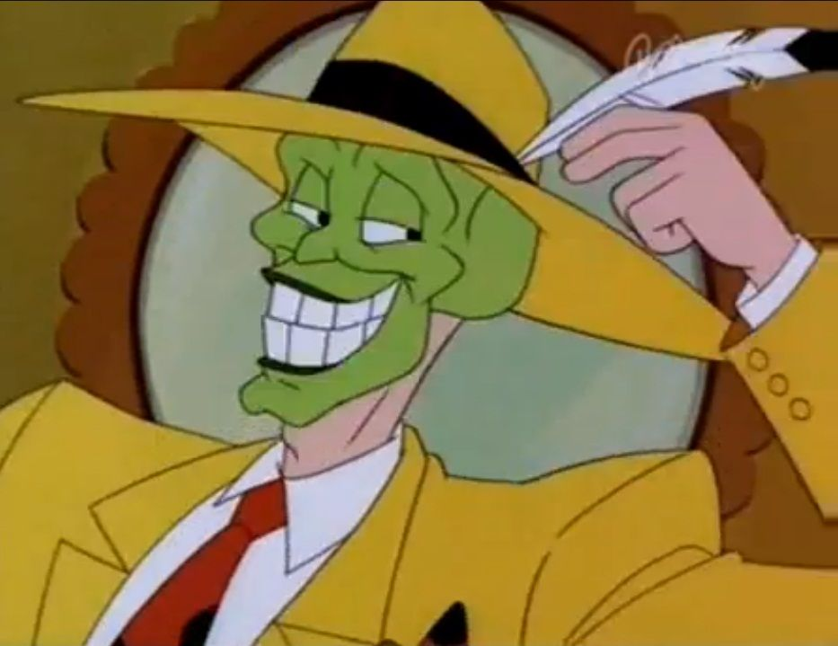 the mask cartoon the mask the animated series google odd