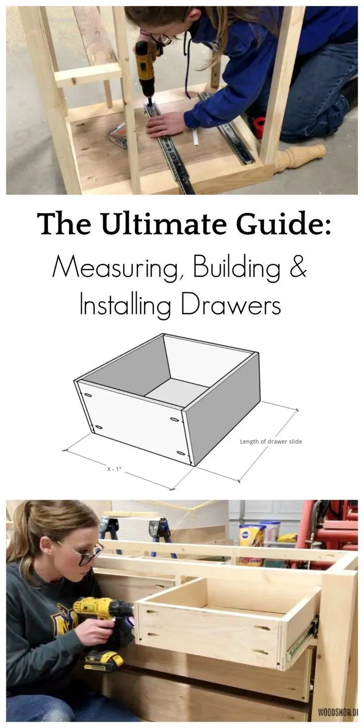 How to Build Drawers-{A Complete Guide to Drawer Making}