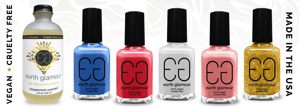 Pin by Earth Glamour on Earth Glamour Vegan Nail Polish & Soy Polish ...