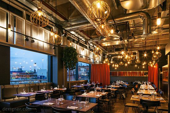 Designlsm Completes The Interior Design For Chai Ki In Canary Wharf Bar Restaurant Interior Bar Design Restaurant Urban Interiors