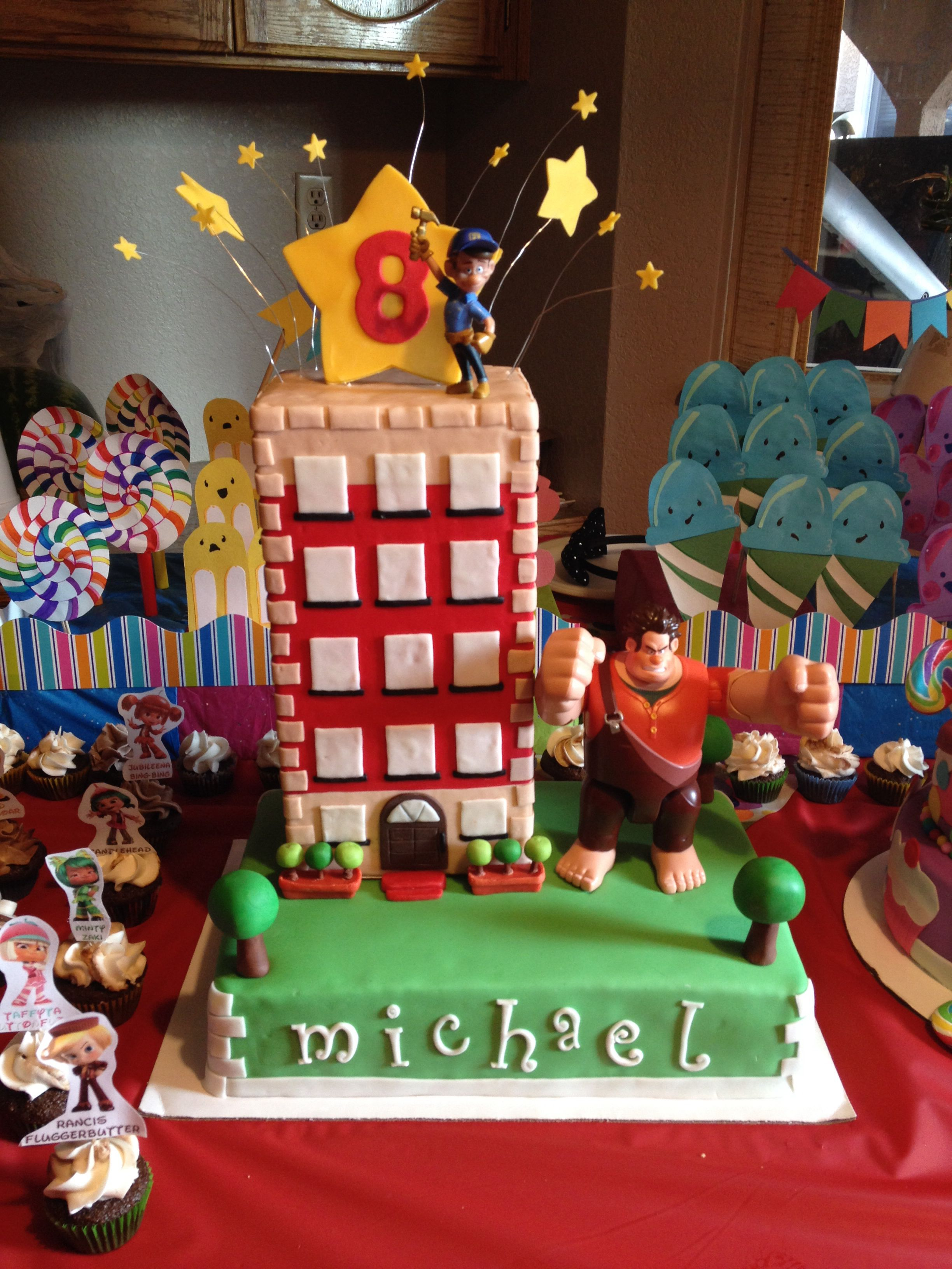 Wreck It Ralph Birthday Cake Was Made With So Much Love For My