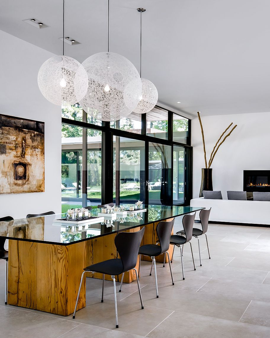126 Custom Luxury Dining Room Interior Designs: Ferris_Rafauli_Design_Livingroom