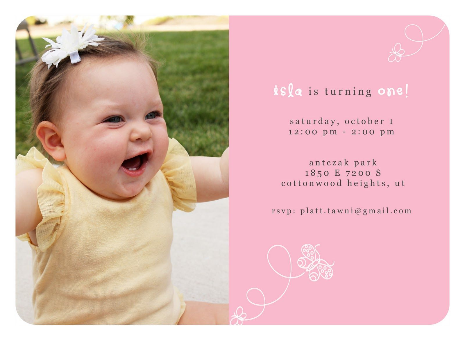 Download Now St Wording Birthday Invitations Ideas FREE - First birthday invitations girl online