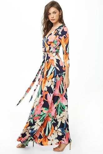 ccce2e4c7ee Floral Print Maxi Dress in 2019