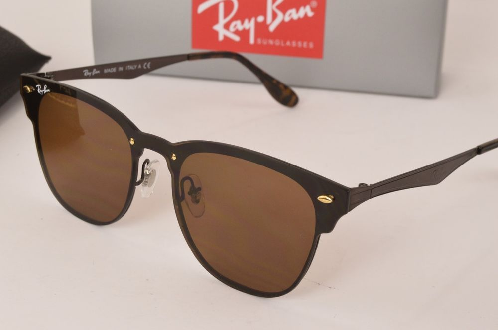 8bc041a21f5 Ray Ban RB3576N 043 71 Blaze Clubmaster Gold Green Classic Lens Sunglasses   fashion  clothing  shoes  accessories  unisexclothingshoesaccs ...