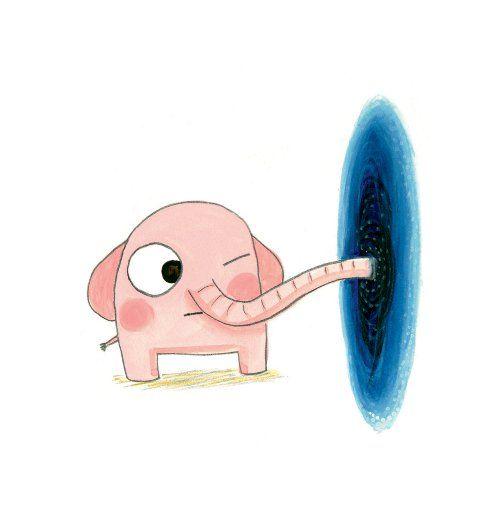 Seven Impossible Things Before Breakfast Children S Book Illustration Elephant Illustration Children Illustration