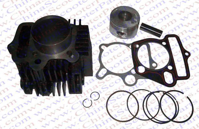 54MM 14MM 69MM Cylinder kit Lifan 125CC 1P54FMI Engine Kaya