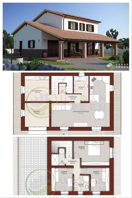 Casa In Legno Bipiano Urb02 Urban Green Case Di Legno Case Di