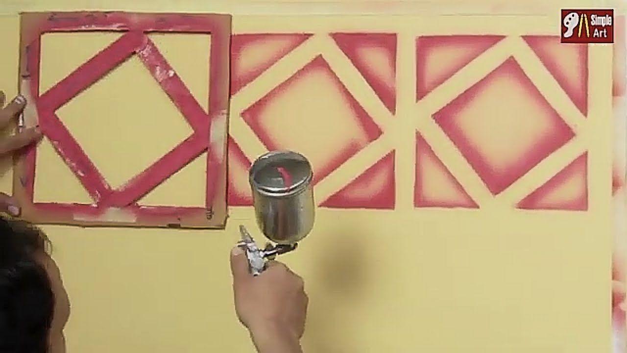 بقطعه كرتون وزجاجه سبراى إصنع بنفسك في المنزل أجمل ديكور ثرى دى زخرفه إسلاميه3d Decor Youtube Door Handles Home Decor Decor