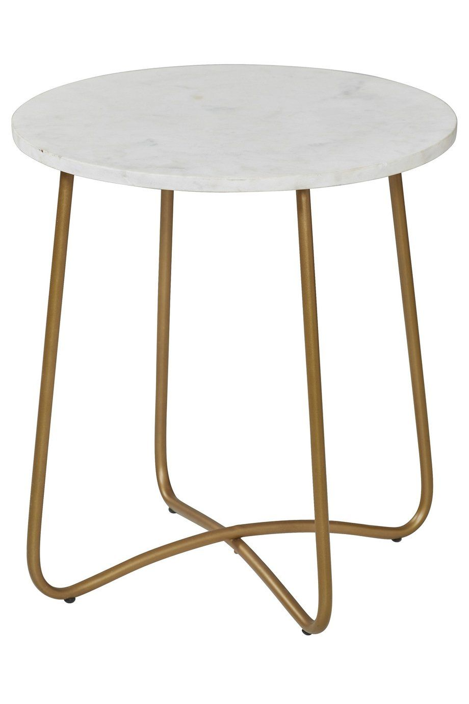 Jessica Astor Marble Table White Gold Interior Secrets