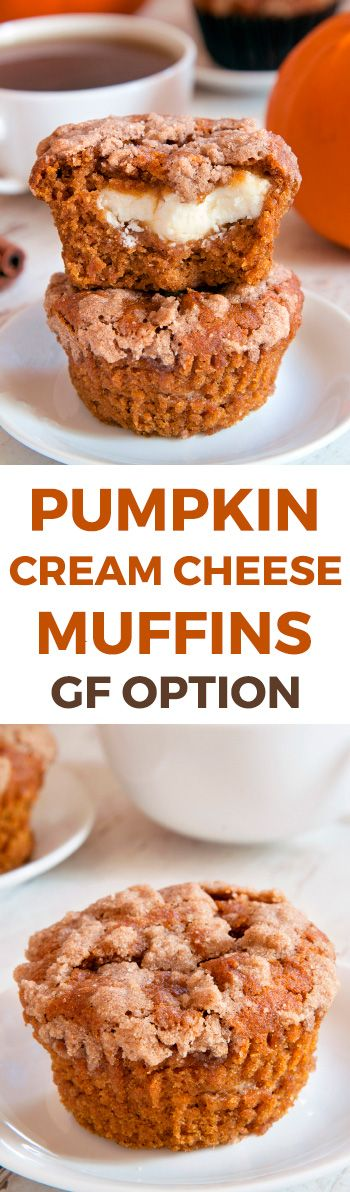Pumpkin Cream Cheese Muffins Incredibly Moist With A Generous