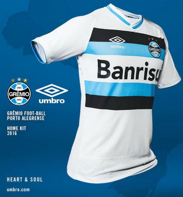nueva segunda equipación del Grêmio 2016 2017