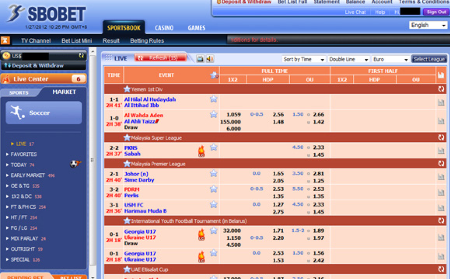Best Legal Football Soccer Online Betting Sites In Singapore
