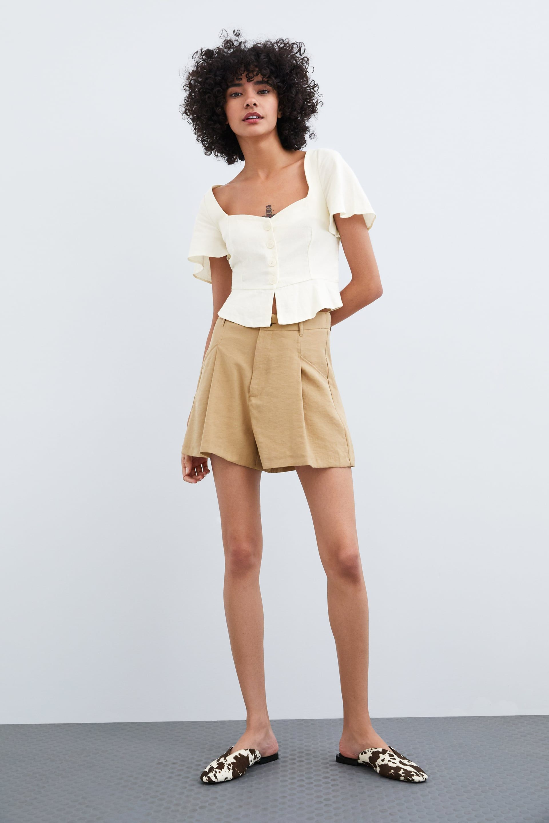 40a4ac6976 Shorts | TRF | New Collection Online | ZARA United States | Closet ...