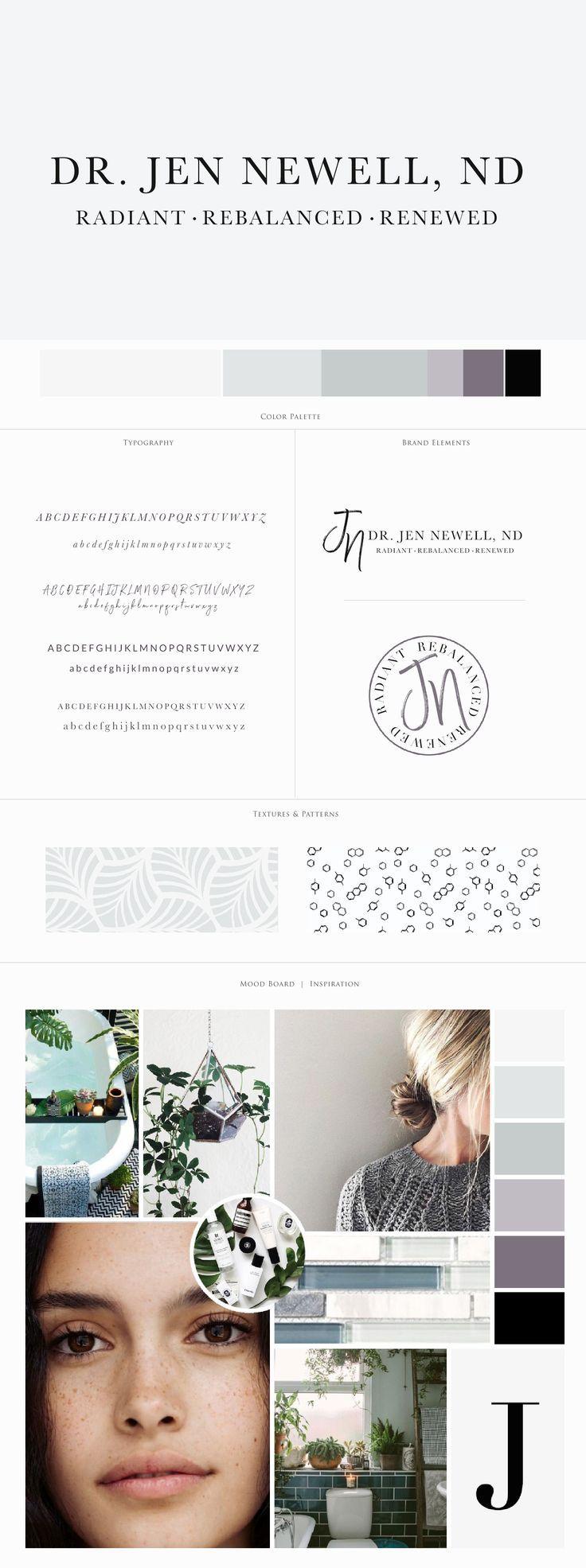 Brandnewell Designs: Dr. Jen Newell Brand Design By Harper Maven Design \\ Www