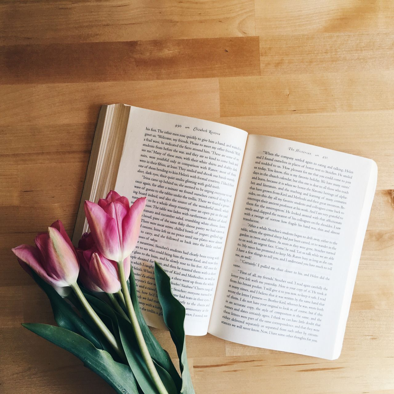Readstoescape Books And Tulips My Heart Book Flowers Bookstagram Inspiration Book Photography
