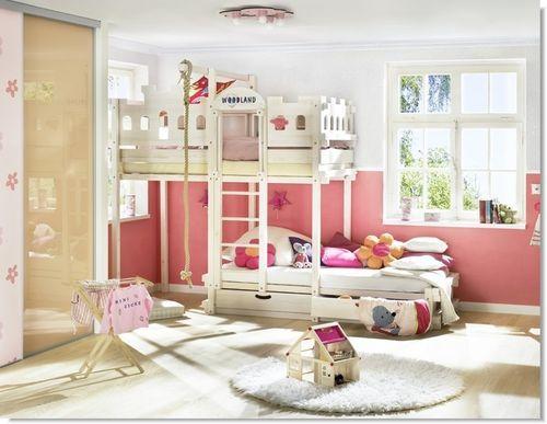 letto a castello per bambini (misto) AMARILLO WOODLAND - Meubles pour enfants