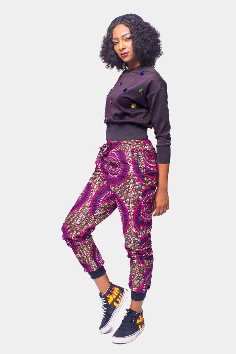 African Clothing, African Print pants, Ankara Pants, Womens wear, Womens Clothing, Jogger pants, Joggers, Unisex Pants #africanprintdresses