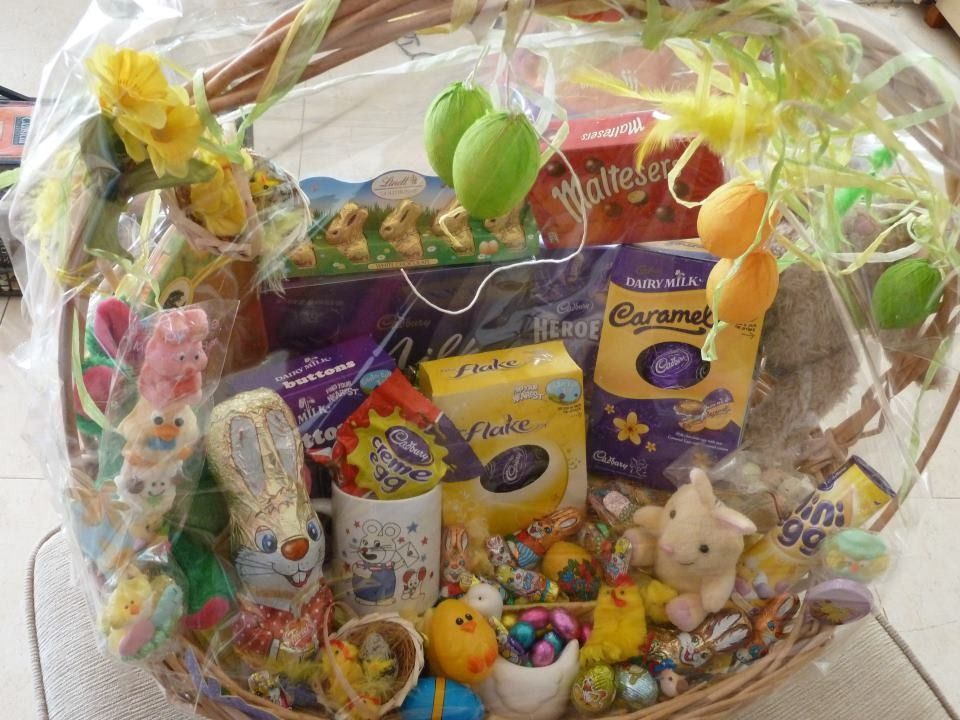 Easter hamper gift baskets pinterest hamper easter and easter hamper negle Image collections