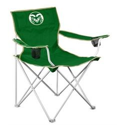 Colorado State Rams Adult Folding Camping Chair Tailgate