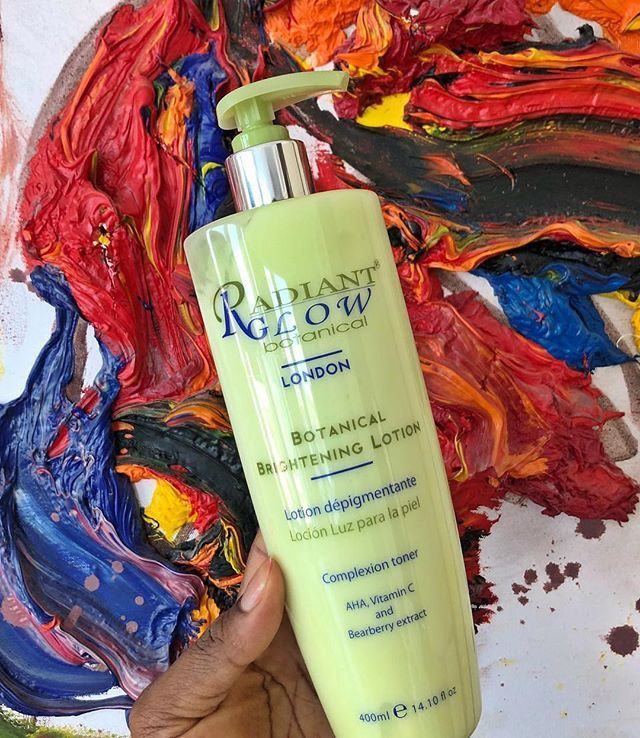 Radiant Glow Botanical Brightening Lotion now Available