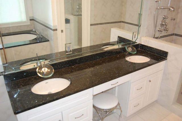 Ubatuba Granite Vanity Tops