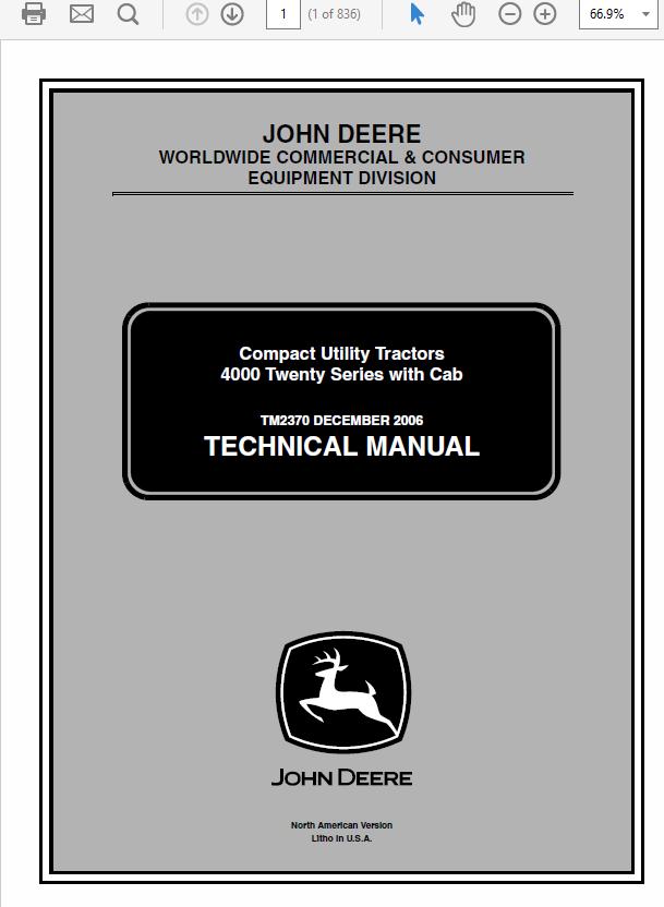 [SODI_2457]   Pin on John Deere Manuals | John Deere 4520 Wiring Diagram |  | Pinterest