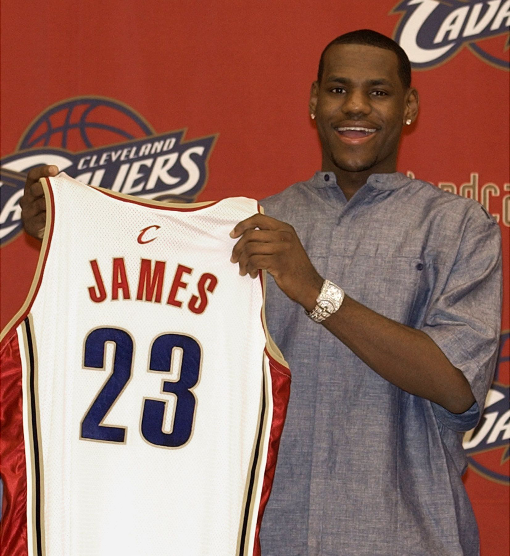 Cleveland Cavaliers Picked Lebron James #1 Overall From St