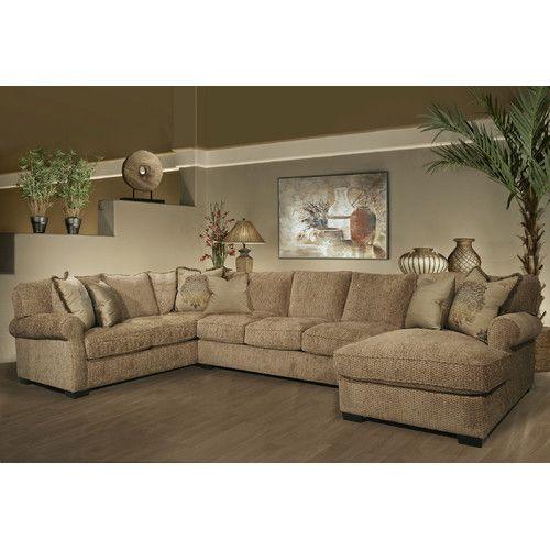 Wildon Home ® Reagan Sectional  sc 1 st  Pinterest : wildon home sectional - Sectionals, Sofas & Couches