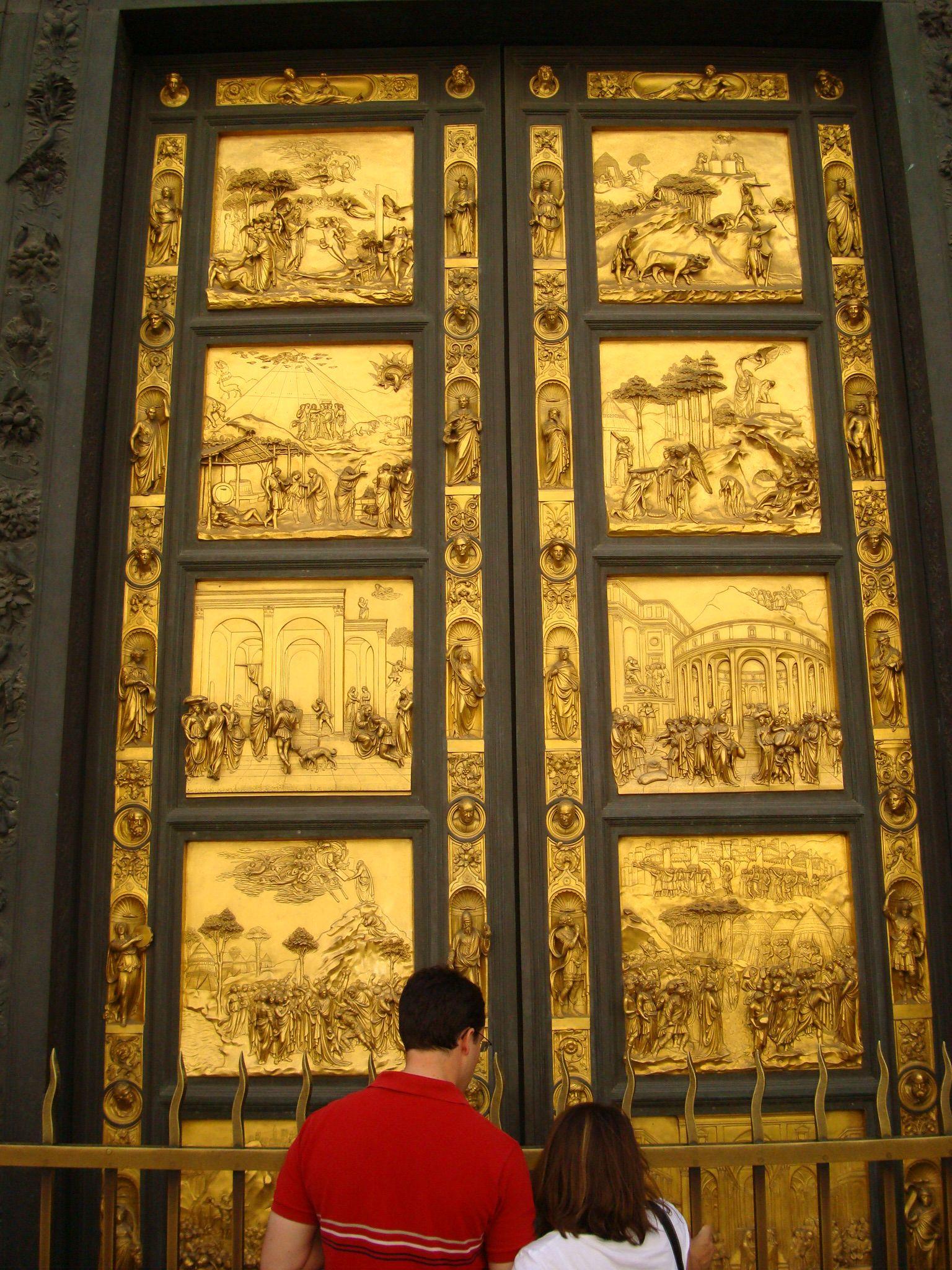 """""""Golden Doors"""" - Basilica di Santa Maria del Fiore ..."""