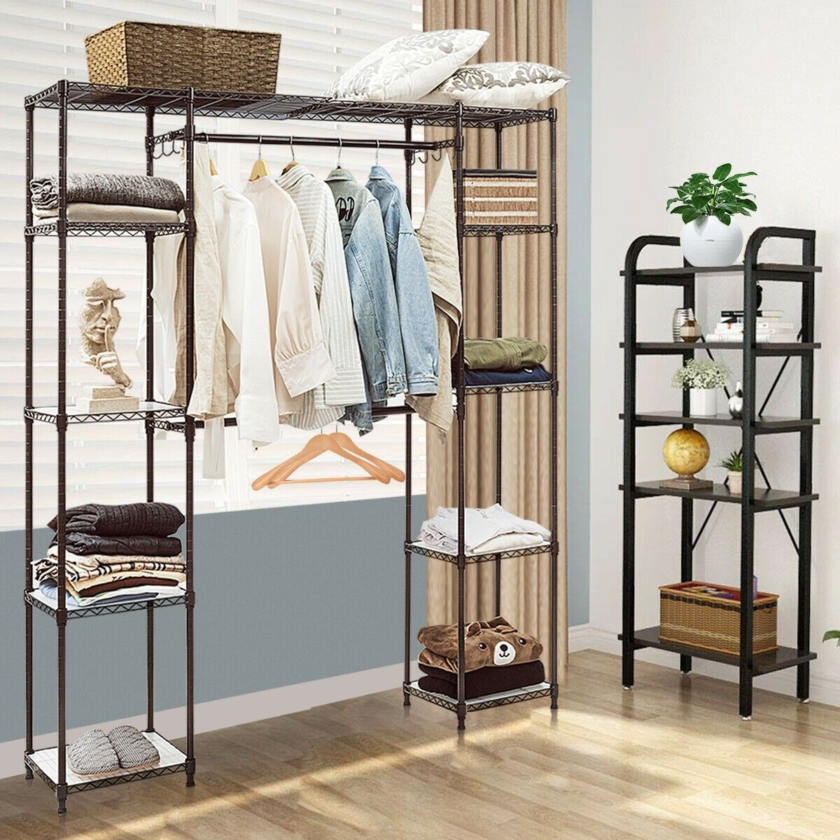 Solution For Bedroom Without A Closet Brackets Board And Cafe