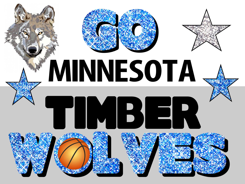 Minnesota Timberwolves Poster Idea Minnesota Timberwolves