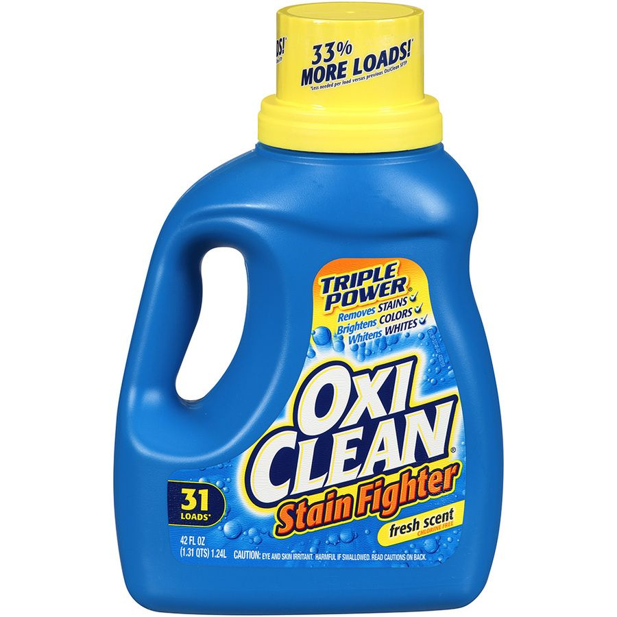 Kroger Oxiclean Liquid Laundry Detergent Or Paks Only 2 99