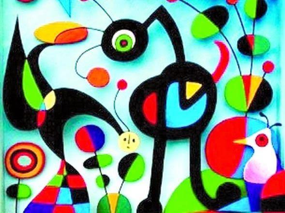 Pintores famosos vanguardias del siglo xx surrealismo joan miro siglo xx in 2019 - Pintores de barcelona ...