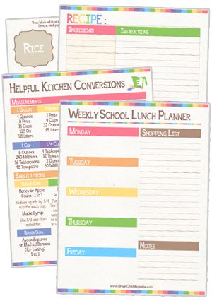 The Ultimate Customizable Personal Planner Free Printable  Free