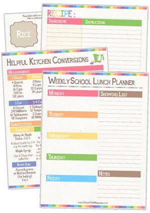 The Ultimate Customizable Personal Planner {free printable - school calendar creator