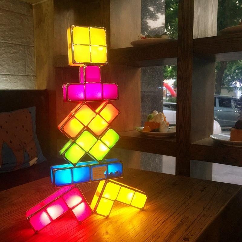 Toys Shop Buy Shopping Led Tetris Light Kids Free Shipping Worldwide Buy Now 33 Discount On Tetris Stacka Puzzle Lights Led Night Light Led Desk Lamp