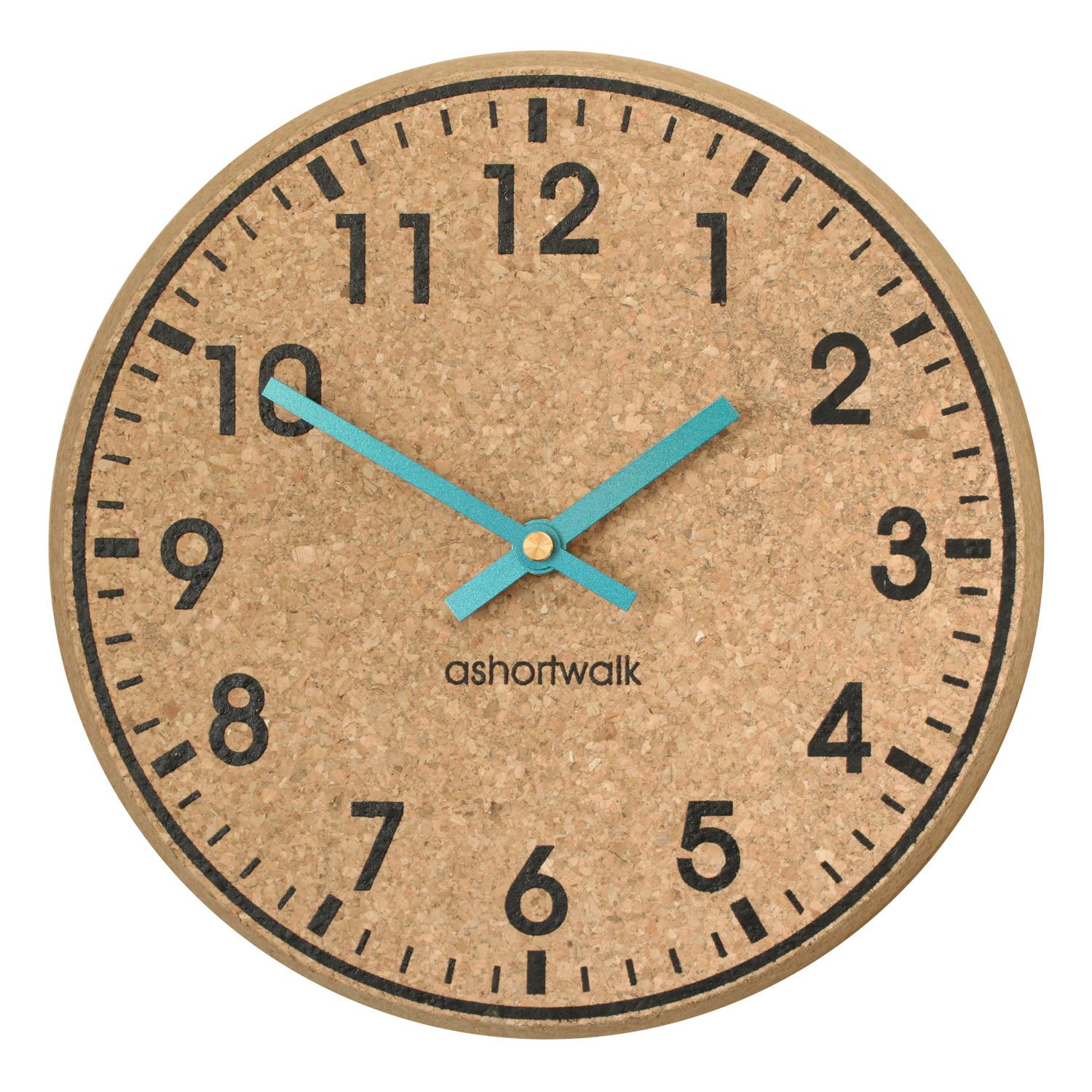 Cork 25cm Clock Wayfair UK Wall clock, Cork wall, Clock