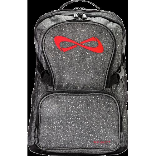 greypurple gray infinity product petite nfinity music cheer backpacks purple logo backpack sparkle