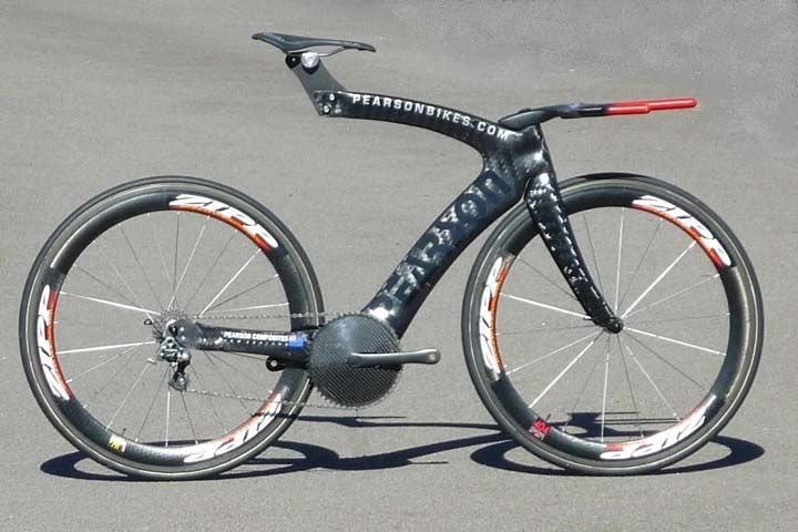 Pearson Bikes Manufacture Lightweight Aerodynamic Carbon