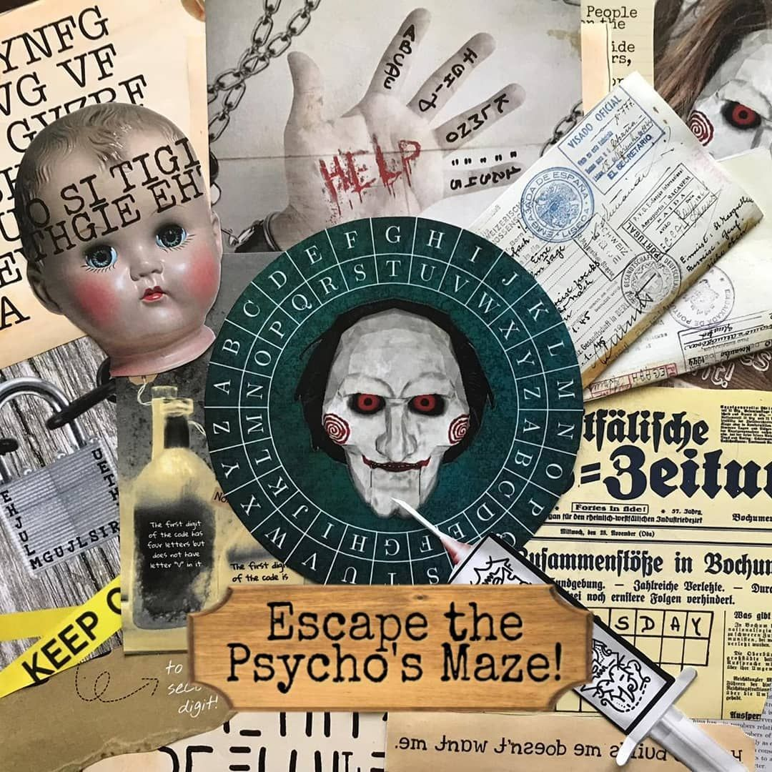 Celebrate Halloween with our new Printable Escape Room
