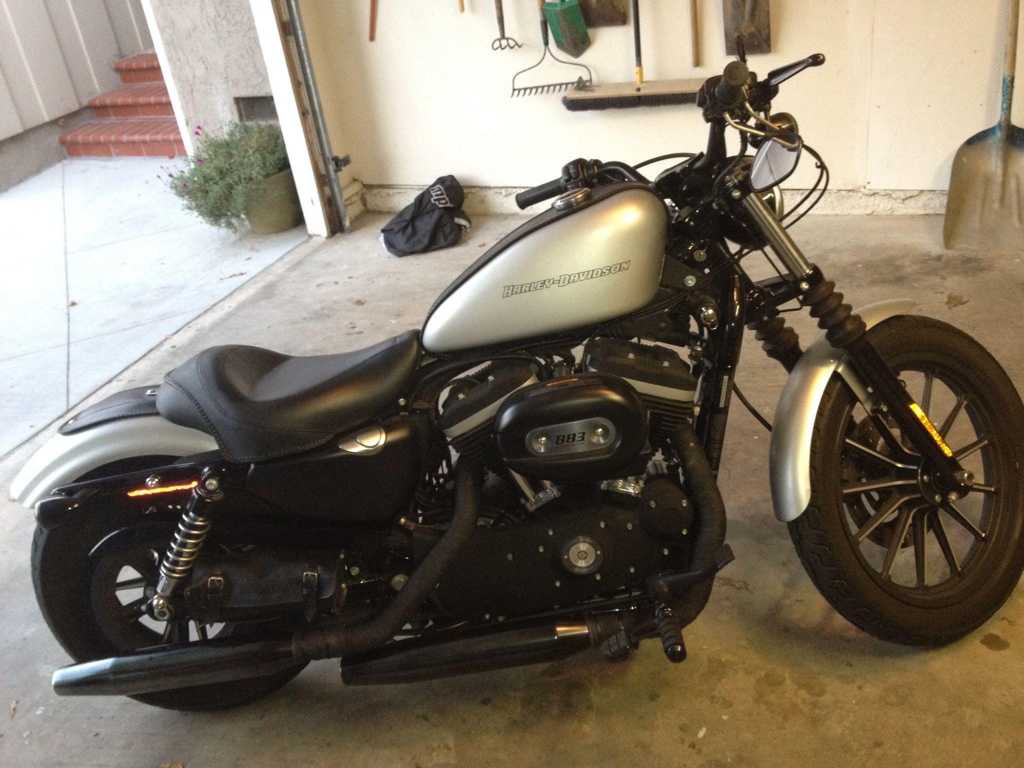 My 2009 Harley-Davidson Sportster Iron 883    aka 'Duke