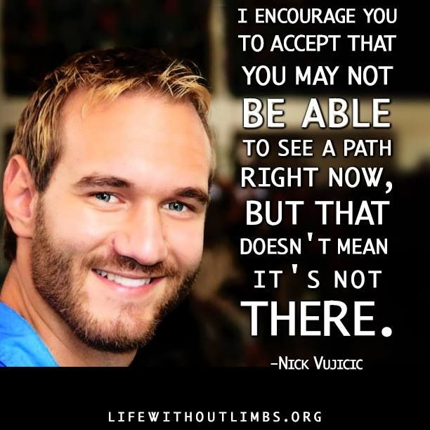 Motivational Speaker Quotes: Nick Vujicic Inspirational Speaker