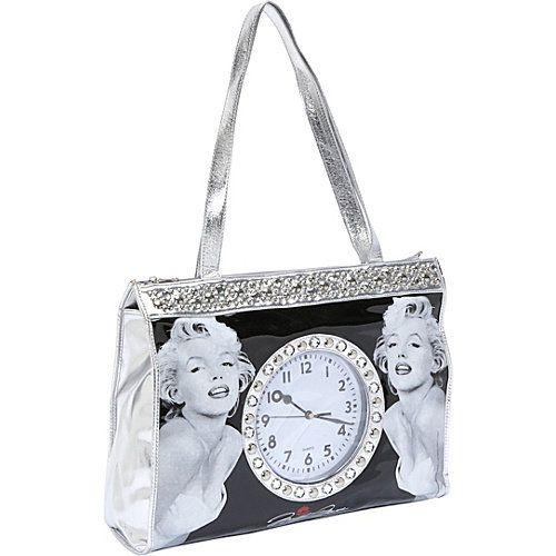 marilyn monroe bags | Ashley M Marilyn Monroe Clock Tote Bag: Bags : Walmart.com