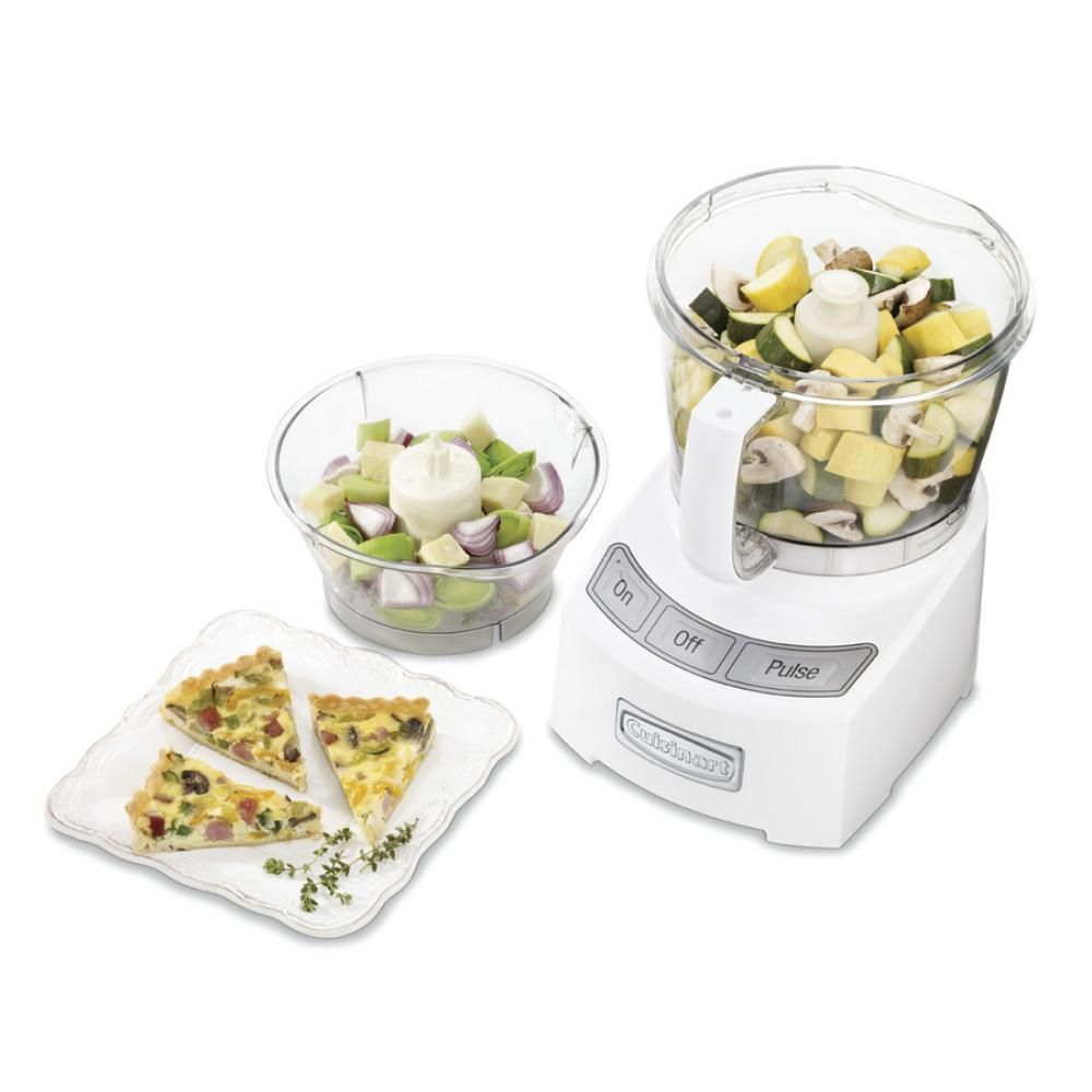 Cuisinart 12cup diecast food processor white food