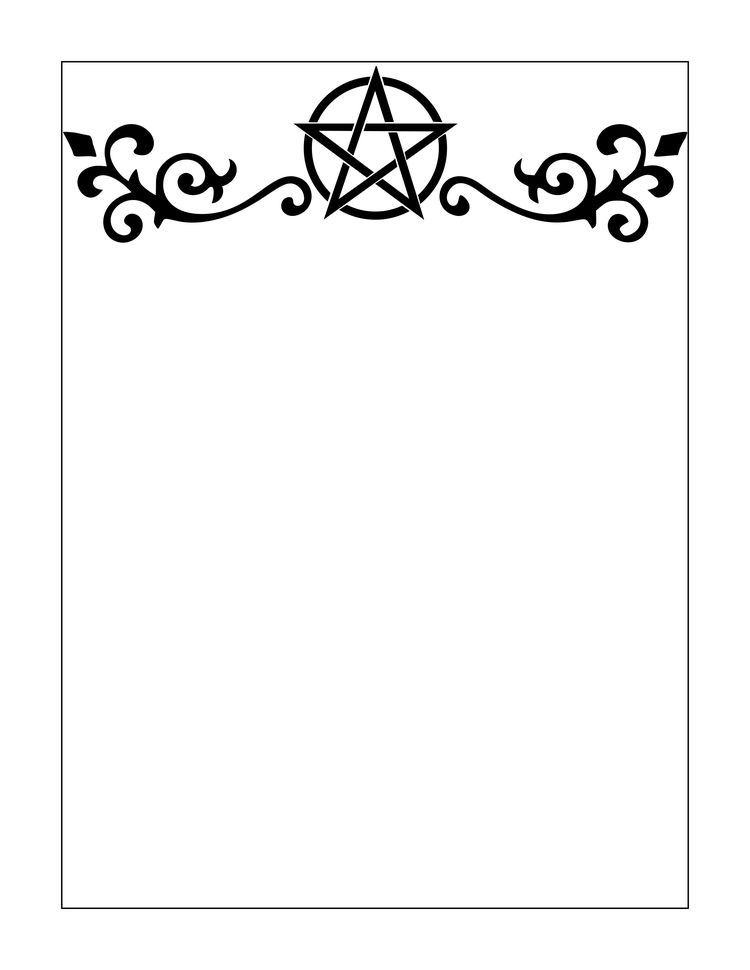 Printable Book Frame Cover Art Could Be Used As A Border Or