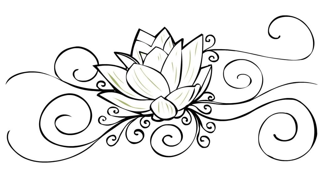 Crazy outline lotus flower tattoo design tattoos pinterest crazy outline lotus flower tattoo design mightylinksfo