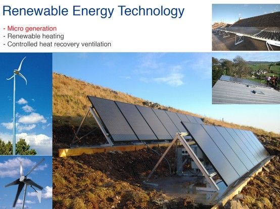 Renewable Energy Technology Microgeneration Of Electricity Renewable Energy Technology Energy Technology Heat Recovery Ventilation