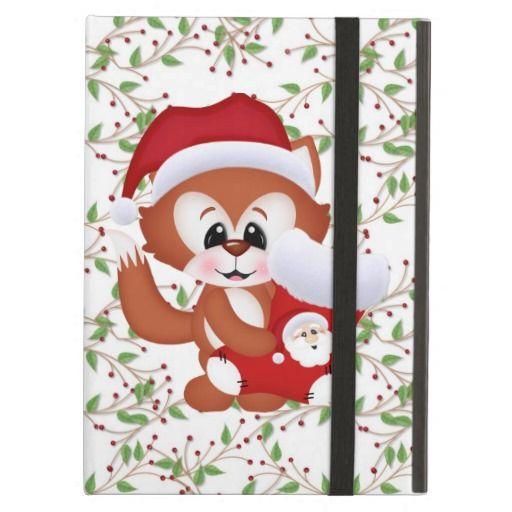 Christmas Fox iPad Air Powiscase iPad Air Cover