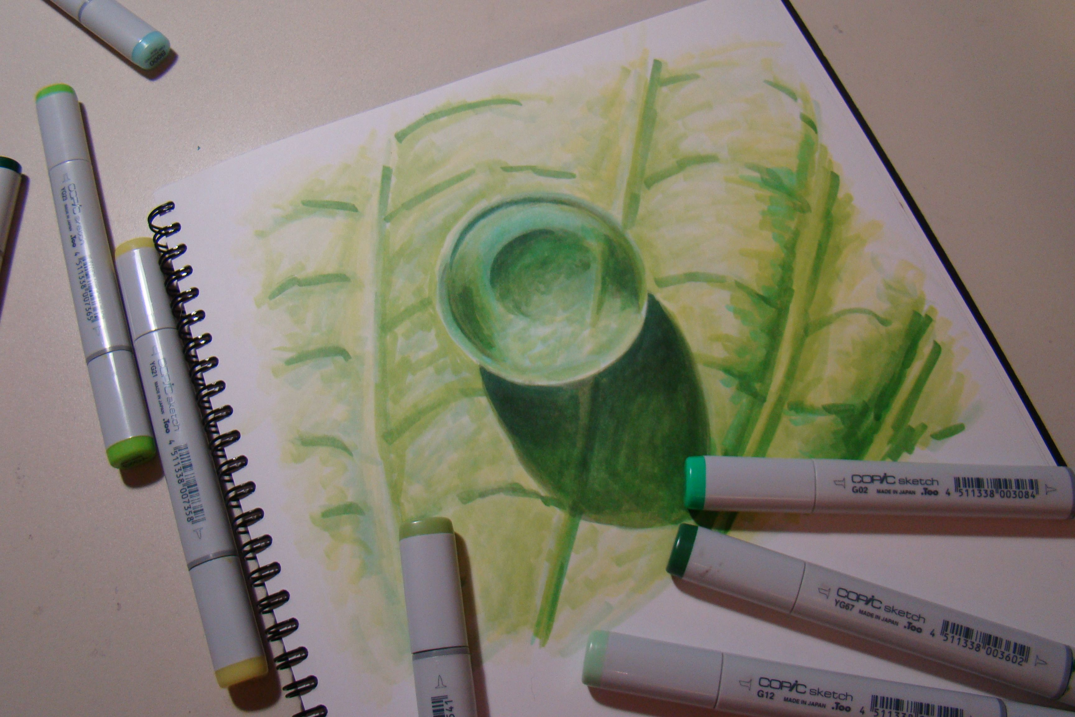 Coloring Water Droplets with Copic Markers | Copic, Marker ...